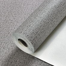 Modern Linen Wall Papers Home Decor Living Room Wallpaper Waterproof Wall Paper Roll for Bedroom Walls Decorative modern black white horizontal vertical stripes wallpaper for walls roll home decor pvc waterproof living room bedroom wall paper