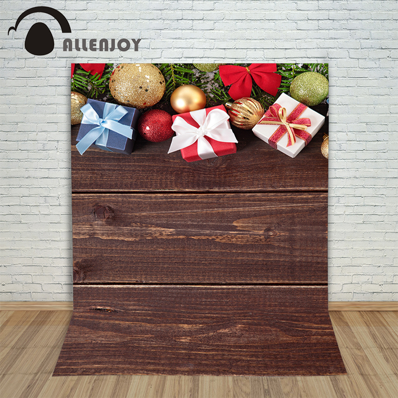 Christmas parquet wood floor backgrounds for photography ribbon ornament new year Background vinyl  fabric year of the rooster christmas photographic background snow snow in winter new year photo vinyl cloth year of the rooster