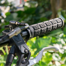 Bike Bicycle Grips MTB BMX Soft Cycling Handlebar Double Locking On Grips Protector Guard Accessories nuckily water resistant neoprene bicycle chain stay protector guard black