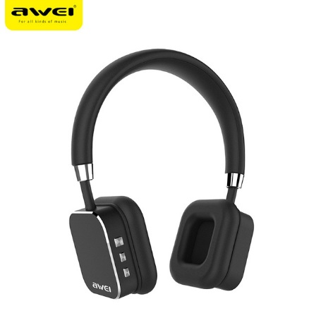 US $47 57 16% OFF|AWEI A900BL Wireless Headphones Bluetooth Sport Headset  stereo earphone With Microphone App Control For iPhone Android Phone -in