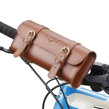 Retro Bicycle Tail Bag PU Leather Cycling Bag Saddle Pouch Rear Pannier Personalized Vintage Bike Bag Bicycle Accessories bike saddle bag bike retro bags bicycle tail bag pu wood back seat tail pouch personalized cycling equipment bicycle accessories
