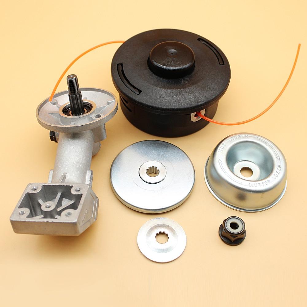 Trimmer Head Gearbox For STIHL FS36 FS40 FS44 FS55 FS65 FS72 FS74 FS75 FS76 FS80 FS80R FS85 Autocut 25-2 Line Trimmers carburetor carburador gasket for stihl fs38 fs45 fs46 fs55 fc55 fs74 fs75 fs76 fs80 km55 km80 km85 carb zama c1q s143 c1q s153