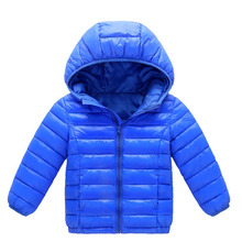 2018 Autumn Winter Kids Boys Girls Duck Down Jacket Outerwear Fashion Warm Hooded Children Clothes Parka Coat 4 6 8 10 12 Years winter long jacket for girls 5 10 11 years fashion cotton parka kids european girls clothing beautiful autumn warm coat children