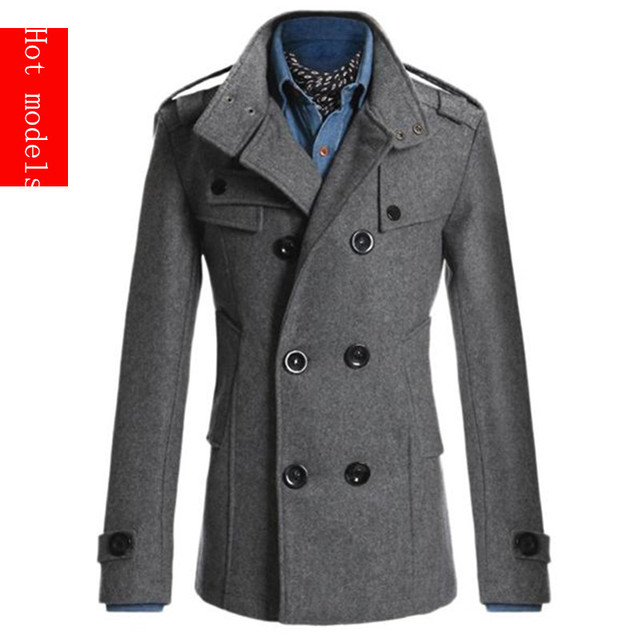 2016 del otoño del resorte Nuevos abrigos de moda chaqueta de los hombres/de los hombres/diseño insignias/ocio capa de la chaqueta invierno