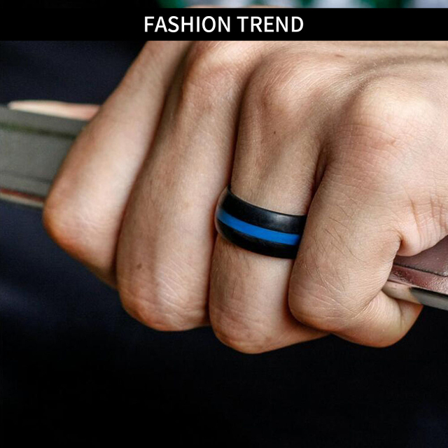 Silicone Finger Ring for Engagement