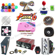 multi game board arcade fighting kit Pandora box 6