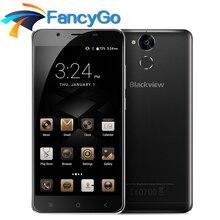 Дешевые Оригинал Blackview P2 Lite 6000 мАч мобильный телефон Android 7.0 4 г 5.5 «FHD MTK6753 Восьмиядерный 3G 32 г 13MP + 8MP металла Поддержка 5 г Wi-Fi