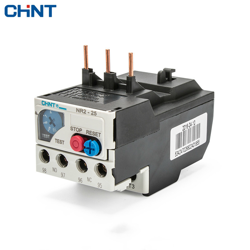 CHINT Heat Relay NR2-25 Overload Protect 220v Heat Protect Relay Heat Overload Relay