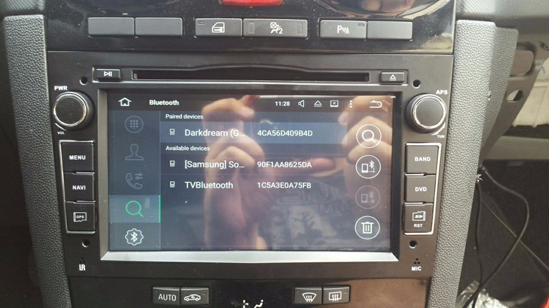 ANDROID OPEL DVD