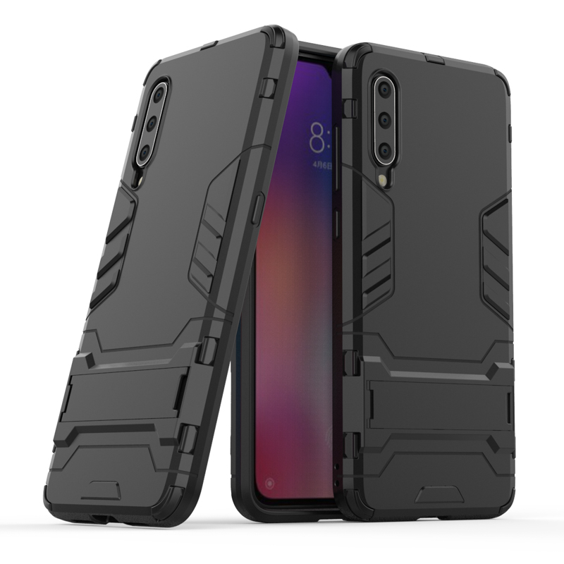 Hybrid Case For Xiaomi Mi 9 8 Lite SE Cases Armor Robot Bumper For Xiaomi Pocophone F1 Mi A2 Max 2 Mix Note 3 A1 5x 6X 5s Covers in Fitted Cases from Cellphones Telecommunications