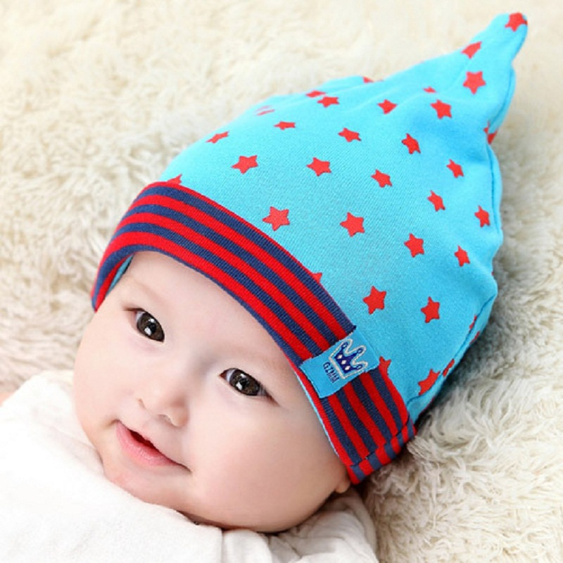 2015 korean caps lovely new cotton newborn hats baby girls toddlers