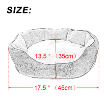 Warm Cat Bed Winter Kitten House Kennel  Soft Cotton Pet Dog Cat Mats Puppy Sofa Cushion For Small Medium Dogs Cats Cat Products