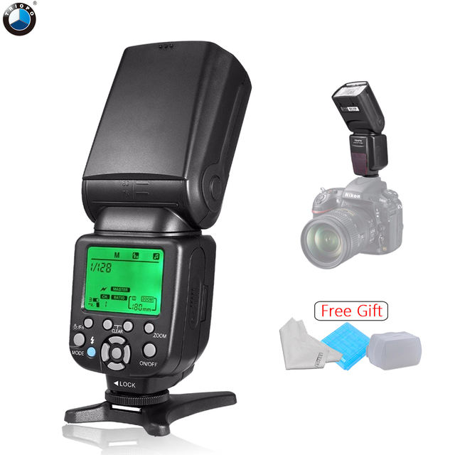 Triopo TR-586EX C Wireless TTL Flash Speedlite Speedlight for Canon EOS 5D 5D3 6D 70D 5D II DSLR Cameras as Yongnuo YN-565EXII