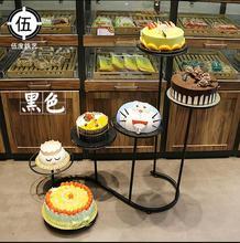 New European six-layer iron s - shaped cake rack