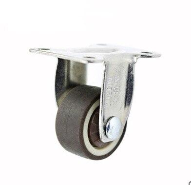 4 PÇS/LOTE Roda D: 25mm M6 (1 polegadas) Direcionais Rodízios Mudo Roda de Mesa (Carregamento 20 kg)