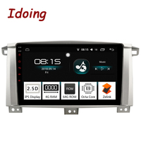 Idoing 94G+64G 8Core Car Radio Android8.0 Player Fit Toyota Land Cruiser 100 LC100 Lexus LX470 2005 2007 GPS Navigation 2.5D