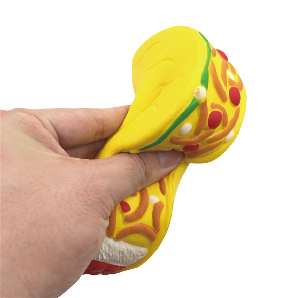 Hand Cakes Squishy Super Jumbo Scented Slow Rising Rare Fun Toy Ring Bell Toy Newborn Infant Early