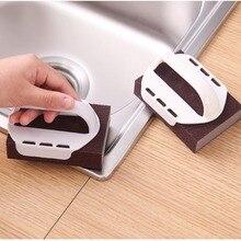 Emery Powerful Sponge Brush Eraser Scrub Handle Grip Kitchen Cleaning Tool