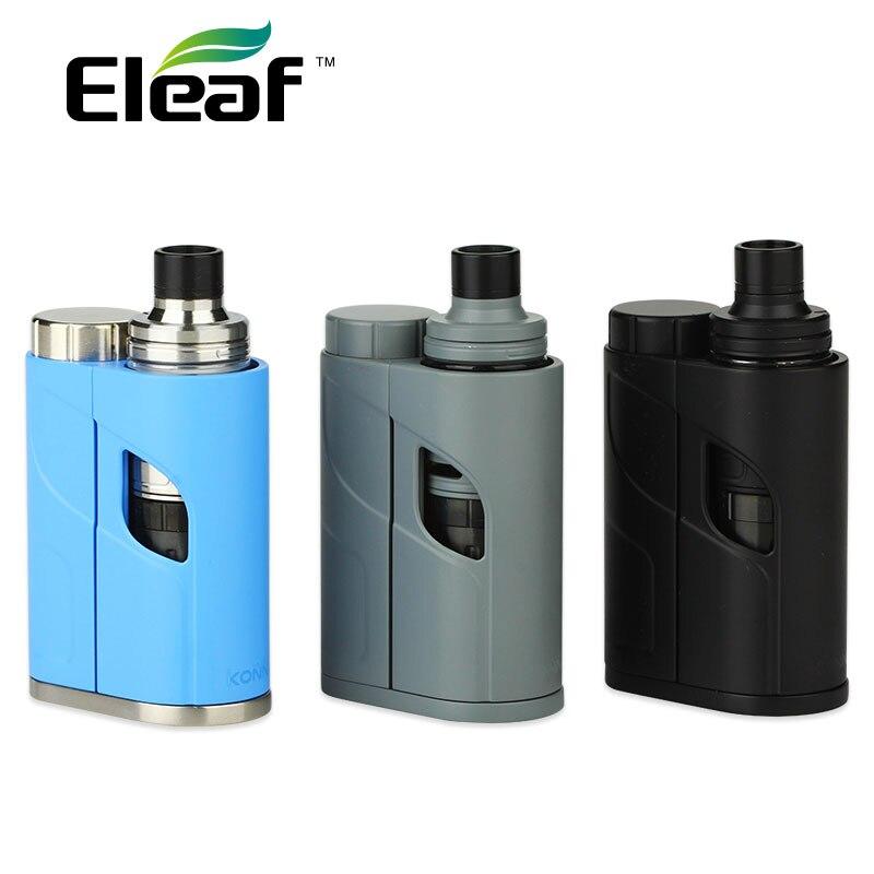 Original Eleaf iKonn Total Kit 50 W com Ello Mini Tanque 2 ml com HW1 Single/HW2 CAIXA de Bobina Dupla E-cigarro Vape iKonn Total Vape