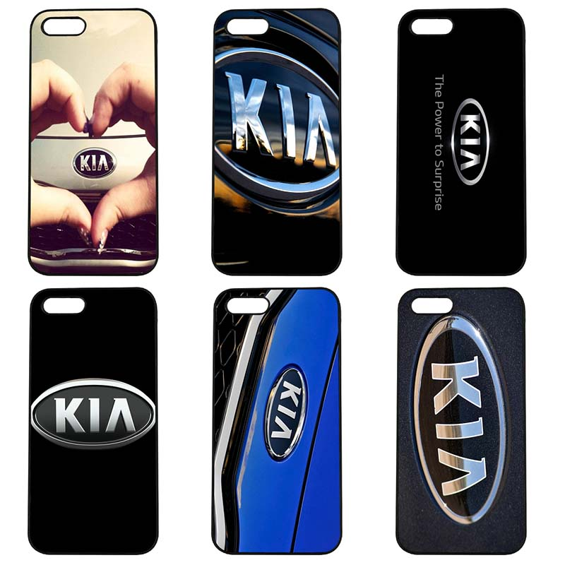 Love Kia Logo Korean Cell Phone Case Hard PC Anti-knock Cover Fitted for iphone 8 7 6 6S Plus X 5S 5C 5 SE 4 4S iPod Touch 4 5 6