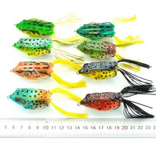 1pack 12.5g 13.4g Soft Tube Bait Japan Plastic Fishing Lures Frog Lure Treble Hooks Frog Artificial Soft Bait Leurre Souple