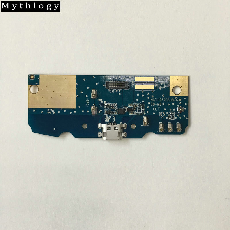 Mythology For Doogee S55 & S55 Lite USB Board Flex Cable Dock Connector Microphone Octa Core 5.5