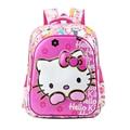 Новое Прибытие Hello Kitty Девушка Мешок Школы Водонепроницаемый Первичная Рюкзак Малыш Мешок Прекрасный Корпусных Мешок