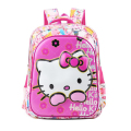 New Arrival Hello Kitty  Girl School Bag Waterproof  Primary Backpack Kid  Bag Lovely Boby Bag