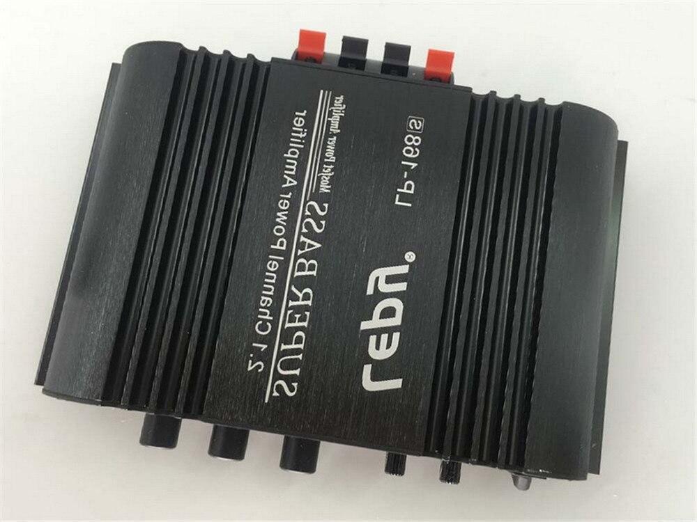 LP-168S 12 v potência subwoofer 2.1 canais