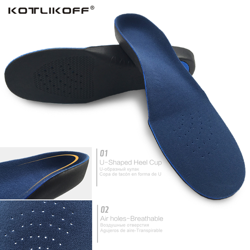 KOTLIKOFF EVA Adult Flat Foot Arch Support Orthotics Insoles unisex Health Orthopedic Insole Cushion Feet Health Care foot pad half arch support orthopedic insoles flat foot correct 3 4 length orthotic insole feet care health orthotics insert shoe pad