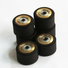 1 Piece 4X11X16mm For Graphtec Roland Pinch Roller Cutting Plotter Rubber Pinch Roller Pressure wheel roland fj600 500 wide format printer pinch roller