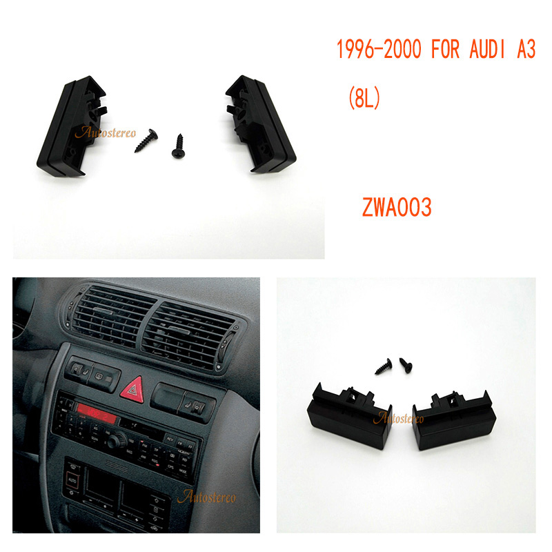 Audi A2 1999-2005 Car Stereo Radio Single Din Facia Fascia Fitting Panel Plate