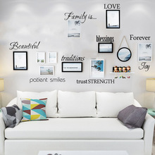 Diy Photo Name Text Wall Sticker Vinyl Art Decal For Living Room Decoration Mural Bedroom muursticker
