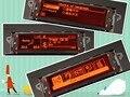 Soporte de pantalla Pantalla del monitor red 12 pin USB y Bluetooth para Peugeot 307 407 408 citroen C4 C5
