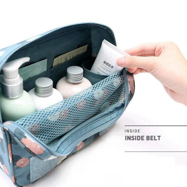 Function Travel Hanging Cosmetic Bag Women Zipper Make Up Case Organizer Storage Men Makeup Pouch Toiletry Beauty Wash Kit Bags 4