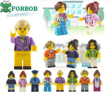 8pcs Compatible Legoing Duplo Friends Figures Set Hospital Doctor for girls 2018 New Legoing friends figurine figuren house girl(China)