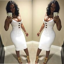 Sexy Sleeveless Revealing bandage dress for Crossdressers & Shemales