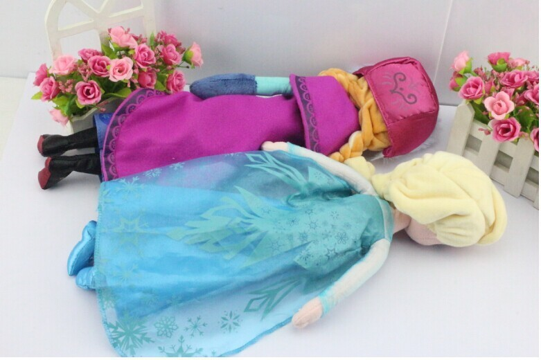 Princess Elsa plush Anna Plush Doll Toy Toys Brinquedos Kids Dolls for Girls  5
