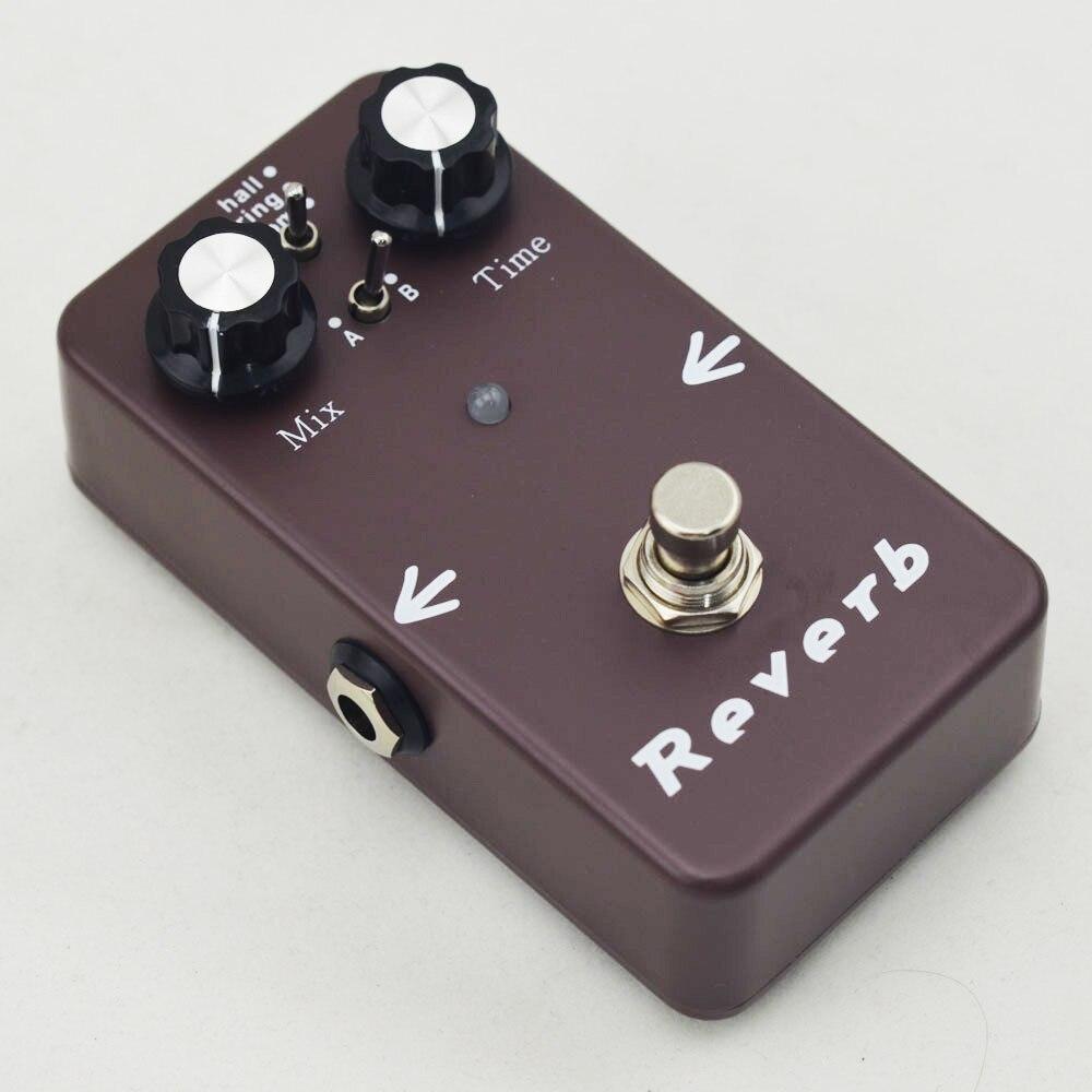 Reverbeffecten Pedaal Pedaalpedalen met elektrische gitaar Hall - Muziekinstrumenten - Foto 3