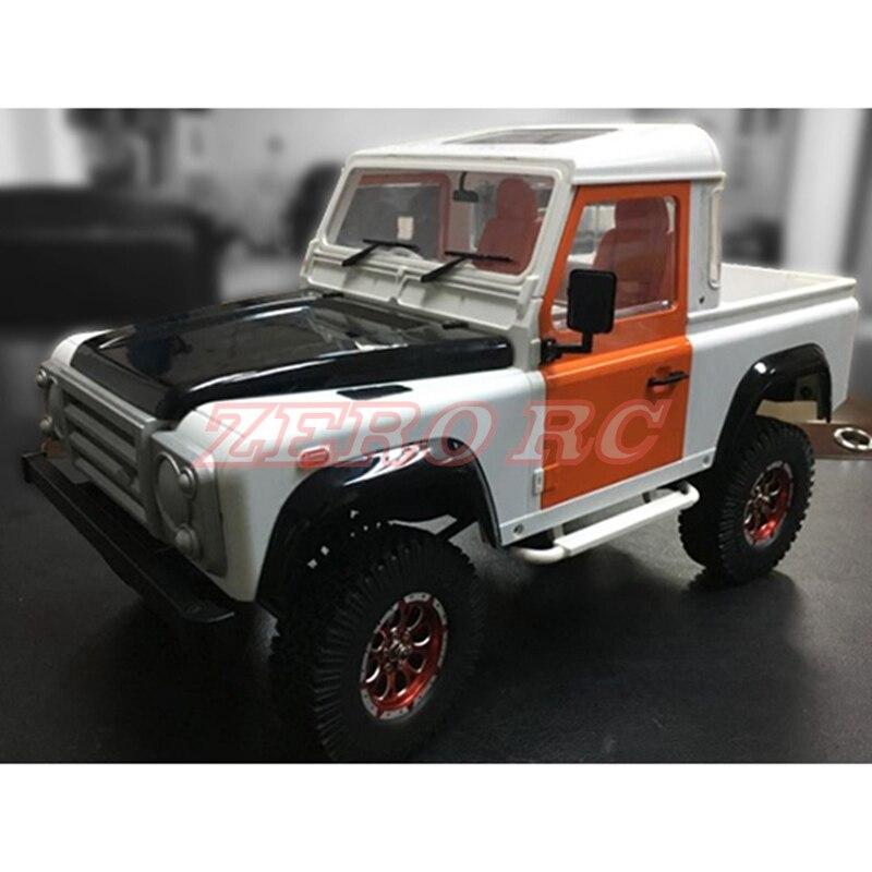 1/10 RC skala Gelande II D90 ciężarówka typu pickup twardego tworzywa sztucznego powłoki zestaw 275mm rozstaw osi dla RC4WD D90 podwozie w Części i akcesoria od Zabawki i hobby na  Grupa 3