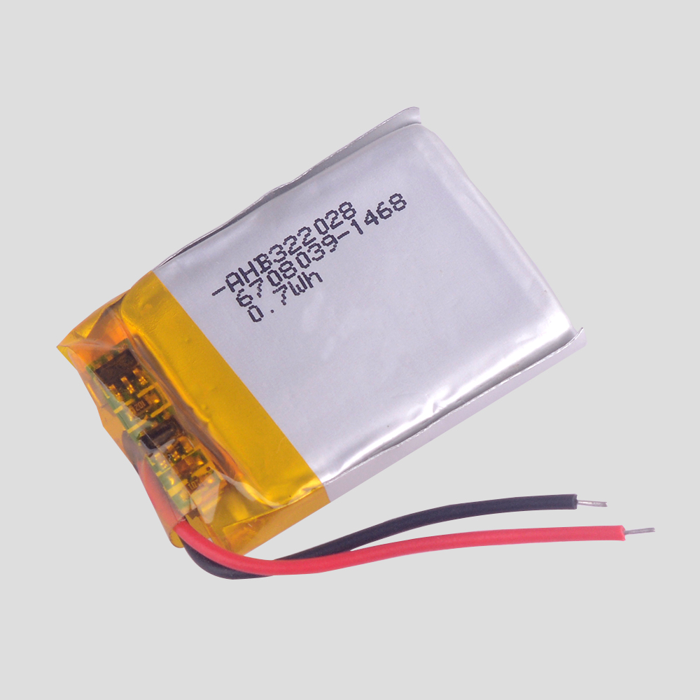 Wholesale High capacity good quality 3.7V 189mAh battery For TomTom runner cardio battery GPS sports watch battery AHB322028 image