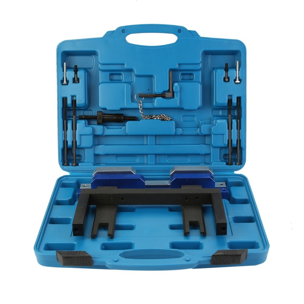 Professional Engine Timing Tool Chain Removal Installation Camshaft Locking Cars Auto Engine Repair Set For BMW N51 N52 N53 N54 newest engine timing tool chain removal installation camshaft locking cars auto engine repair set for bmw n51 n52 n53 n54 e81