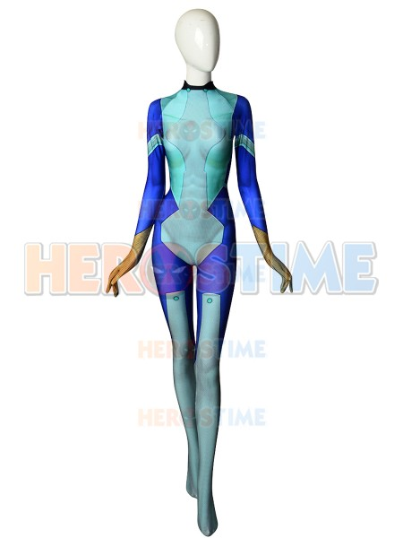 3D Print Nejire Hado My Hero Cosplay Costume Jumpsuit Custom Made Spandex Amine Cosplay Zentai Bodysuit Hot Sale