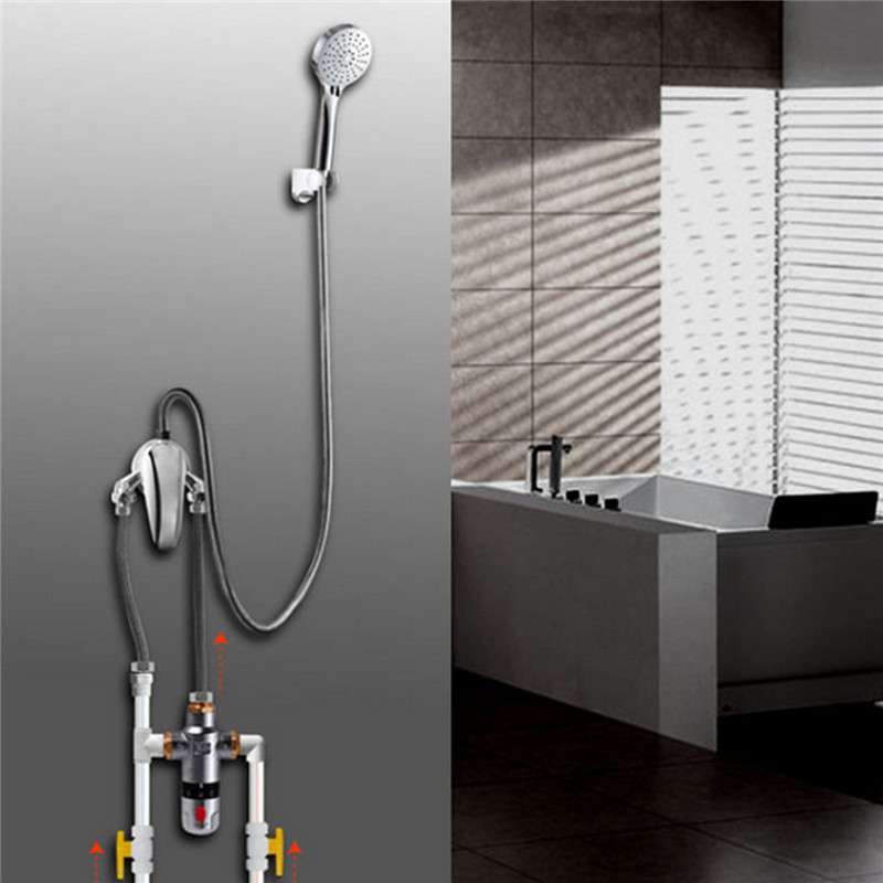 Mlfalls Shower Faucets Brass Thermostatic Mixing Valve