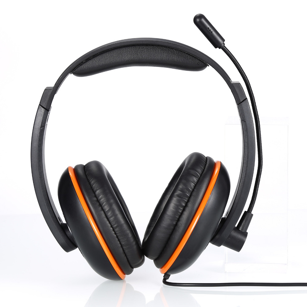 5in1 Gaming Headset Headphone Earphone with Microphone Video Game for PS4 3 / MAC PC Good Sound Insulation, free shipping