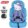 Comfortable Children Safety Car Seat with ISOFIX, Baby Car Seat, Auto Chair for 9 Months~12 Years Old Kids