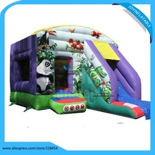 6X5M Inflatable Bouncer Castle with Slide Inflatable Jumping Castle Kids Inflatable Indoor Bouncer