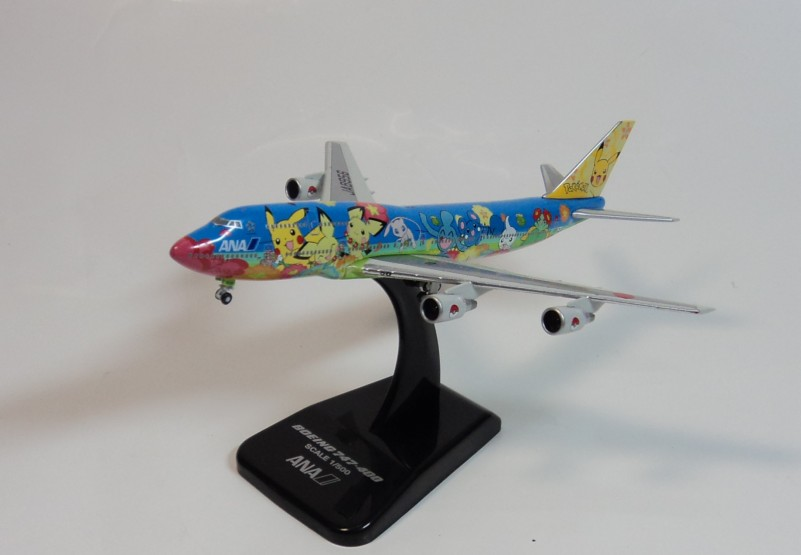 1:500 ANA 747-400 Picacho Hogan ja8956 ana painted aircraft model