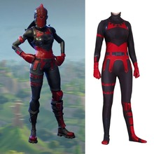 Free shipping adult childrens Halloween game red knight Cosplay Clothes women bodytights costume jumpsuits JQ-1360