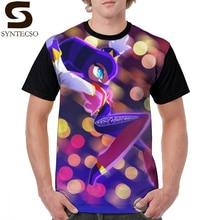 Sonic T Shirt NiGHT Sky Glow T-Shirt Graphic Polyester Graphic Tee Shirt Streetwear Short-Sleeve Funny Male 4xl Tshirt